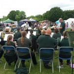 Brass Band Playing at Fun Day