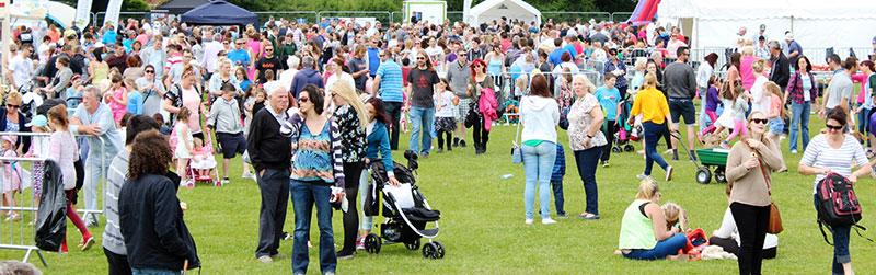 Totton Family Fun Day Crowd